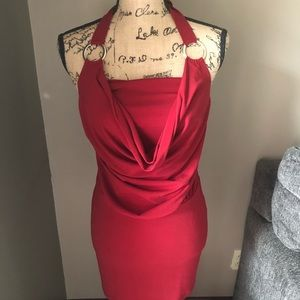 CHARLOTTE RUSSE night out red dress
